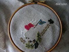 刺繍/emboidery : Choisir!c'est l'eclair・・