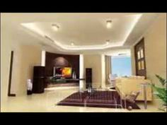 Combination living room and Tv wall cabinet design ideas