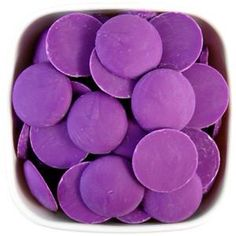 Orchid Purple Candy Melts 1 LB from Layer Cake Shop. Shop more products from Layer Cake Shop on Wanelo. Chocolate Candy Melts, Chocolate Molds, Melting Chocolate, How To Make Purple, Purple Candy, Cake Truffles, Cute Desserts, Cake Shop, Fun Cookies