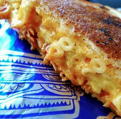 16 ways to eat mac n cheese. I could do without the ketchup one (gross), Omelet, & Ravioli ones though.