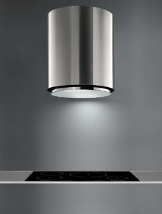 Minimal kitchen detail, extractor by Futuro Futuro (US for Falmec) _