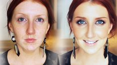 Jennifer Lawrence Makeup Tutorial. AMAZING!! All red heads should subscribe to her youtube channel