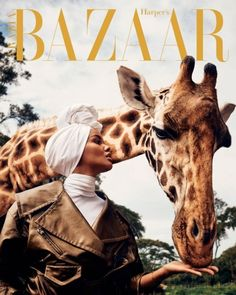 Halima Aden for Harper's Bazaar Arabia's February 2020 cover story. Photographed by Yulia Gorbachenko and styled by Anna Castan. Editorial Photography, Fashion Photography, Color Photography, Photography Ideas, Portrait Photography, Moda Animal, Vogue Magazine Covers, Fashion Cover, Daily Fashion