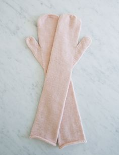Long Lovely Mittens | The Purl Bee