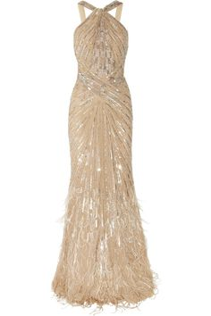 Roberto Cavalli Embellished Silk Chiffon Gown, Masked Ball Date, DressMeSweetieDarling Evening Gowns Couture, Evening Dresses, Prom Dresses, Wedding Dresses, Gown Wedding, Dresses Uk, Lady Like, Roberto Cavalli, Beautiful Gowns