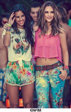 Diversão e estilo, na #poolparty da Enfim tem de sobra! #universoenfim #friends #fashion