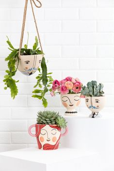 Designed in Australia, Jones & Co is known for our face vases, planters and pots. Shop our range of homewares online — with Afterpay — or find a store near you. Painted Plant Pots, Painted Flower Pots, Face Planters, Diy Planters, Mini Vasos, Macrame Plant, Pottery Pots, Pottery Painting Designs, Cactus Y Suculentas