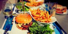 Burger At The Savoie Bar Annecy