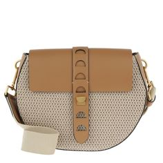 51b244f30086 Coccinelle Carousel Tex Crossbody Bag Naturale Cuoio in brown