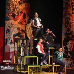Los Rebeldones en el musical Vaselina.  #rebeldones #Vaselina #AlejandroSpeitzer #Kiko #TeatroNextel #TeatroDelParque #obra #teatro #musical