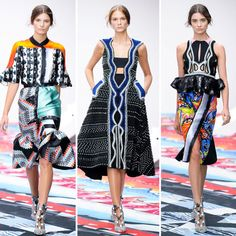 Globe Trotter fashion is here to make you explore the trendyest clothes from India to Mexico, from Asia to America. Luggage Ready!!! -Peter Pilotto-