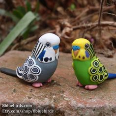 Custom Budgie Figurine