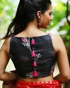 Designer Blouse Ideas #sareeblouseinspiration . Tag your picture with #Chicblouses to get featured on this page . . #bridalblouses #blouse…