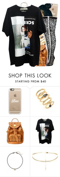 """""""06 August, 2016"""" by jamilah-rochon ❤ liked on Polyvore featuring Casetify, Eddie Borgo, MCM, Tom Ford and Dogeared"""