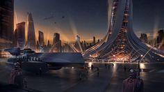Endless Space 2 concept art by #AurelienRantet.  #sciencefiction #scifi