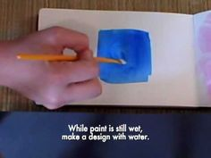 The One Minute Muse | Art Journal Technique | Subtractive Paint