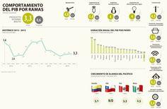 Las nueve ramas de la economía mostraron crecimiento en 2015