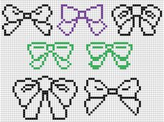 "turnoverthenewleaf: "" plushietrifecta: "" alright, i mentioned earlier i was having issues with bows in Animal Crossing. so i looked into a bunch of bows and made little versions of them that i could..."