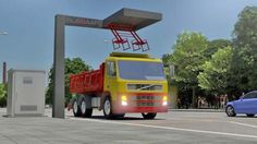 The quick charge system can operate 24/7, is compatible with Opbrid's existing truck and b...