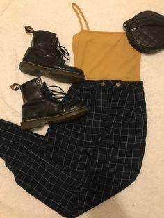 - Beste Punk Ideen - Source by grungepinbaby Vintage outfits Mode Outfits, Retro Outfits, Grunge Outfits, Grunge Fashion, Fall Outfits, Vintage Outfits, Casual Outfits, Fashion Outfits, Grunge Party Outfit
