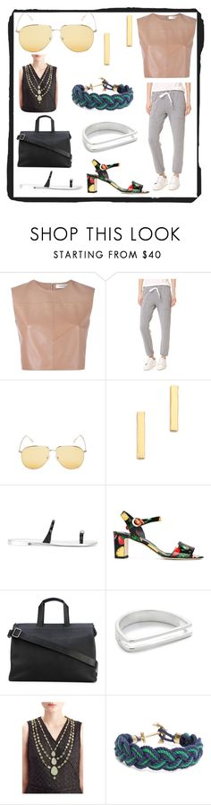 """Fashion for all"" by denisee-denisee ❤ liked on Polyvore featuring Valentino, Stateside, Kyme, Gorjana, Giuseppe Zanotti, Dolce&Gabbana, Isaac Reina, Maya Magal, Pippa Small and Brooks Brothers"