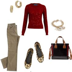.red, tweed, and leopard! need some light tweed!