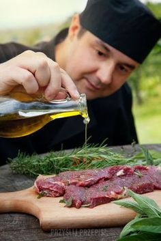 Image of gourmet, ingredient - 25111399 Bbq Grill, Grilling, Marinate Meat, Cooking Ingredients, Steak, Picnic, Food And Drink, Yummy Food, Beef