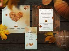 Zaproszenia ślubne Ajdoo • w papierowej bajce •