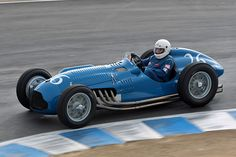 Talbot Lago T26C Grand Prix (Chassis 110052 - 2007 Monterey Historic Automobile Races) High Resolution Image