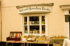 """""""Wild and Homeless Books"""" -- I have to agree with the blogger: """"I don't know where this is, but it sounds absolutely perfect!"""" [SH: It's here: http://www.wildandhomelessbooks.co.uk/]"""