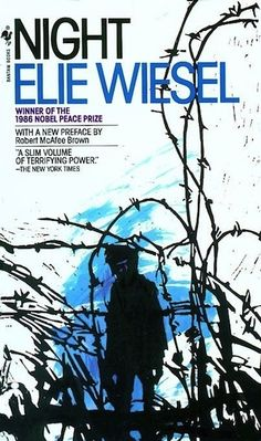 Elie Wiesel, Night, 1982 | The 22 Most Iconic Book Covers Of AllTime