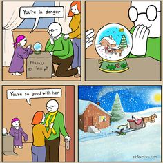 Happy holidays from Perry Bible Fellowship! Stupid Funny Memes, Funny Tweets, Funny Relatable Memes, Funny Fails, Hilarious, Funny Stuff, Bad Comics, Cute Comics, Funny Comics