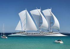 Yachts de luxe : les concepts les plus fous  phoenicia sailing yacht