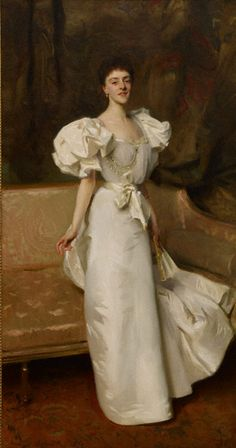 Portrait of Thérèse, countess Clary Aldringen, John Singer Sargent, 1896. Oil on canvas, 90 x 48 in. (228.6 x 121.9 cm). Renée and Lloyd Greif, Los Angeles, California
