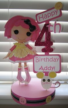 Lalaloopsy Birthday Party Crumbs Sugar by SparklesCelebrations, $17.50