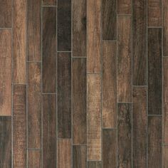 Carson Ridge Brown Wood Plank Porcelain Tile - 3 x 18 - 100242106 | Floor and Decor