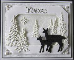 PartiCraft (Participate In Craft): Winter Peace Scene