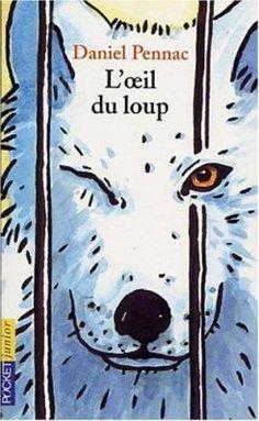 L'Oeil Du Loup by Daniel Pennac, Catherine Reisser Album Jeunesse, Cover Art, Childrens Books, Illustration, My Books, Snoopy, Fictional Characters, Amazon Fr, Borgne