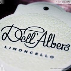 Typography, Limoncello