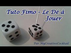 Tuto Fimo - Le Dé à Jouer