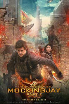 Katniss  Gale - Mockingjay part 2