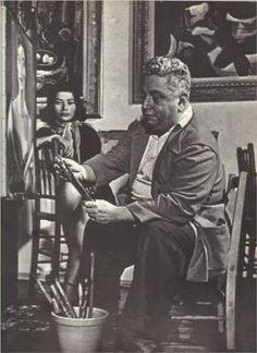 Emiliano Di Cavalcanti - Di Cavalcanti (1897-1976) foi pintor brasileiro. Um dos primeiros artistas a pintar elementos da realidade brasileira, como festas populares, favelas, operários, o samba etc. Foi um dos idealizadores da Semana de Arte Moderna de 1922.