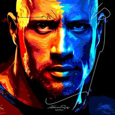 DWAYNE JOHNSON the Rock by adrianorogo 20/01/2013