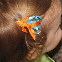 Show Tell Share: Fish Hair Clip