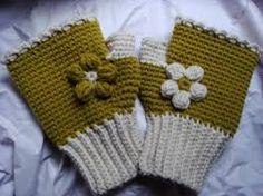 Resultado de imagen para guantes tejidos crochet sin dedos