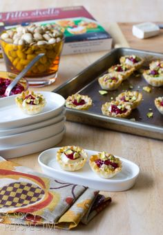 AWESOME Baked Brie Bites - Easy and Elegant Appetizers - I have great luck with these fillo shells - This is a MUST TRY