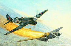 Hawker Tempest Attack Ju-88