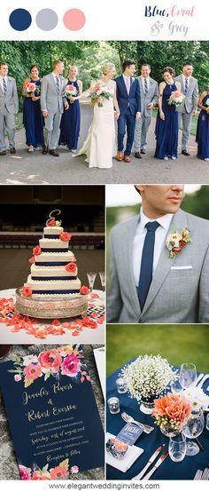 10 prettiest blue wedding color combos for 2018 wedding