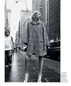 oversized coats - visual optimism; fashion editorials, shows, campaigns & more!: urban fabric: julia nobis by glen luchford for the ny times t style women's fall fashion 2013