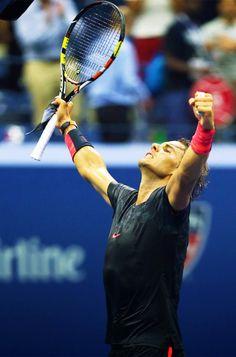 US OPEN 2015 - R1 Rafael Nadal def. Borna Coric 6-3 6-2 4-6 6-4